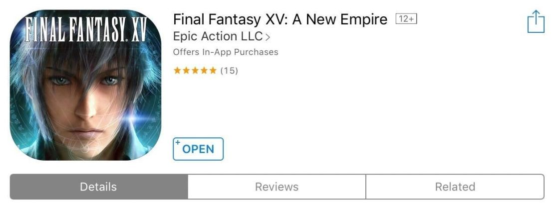 Final Fantasy XV: Another Game ofWar