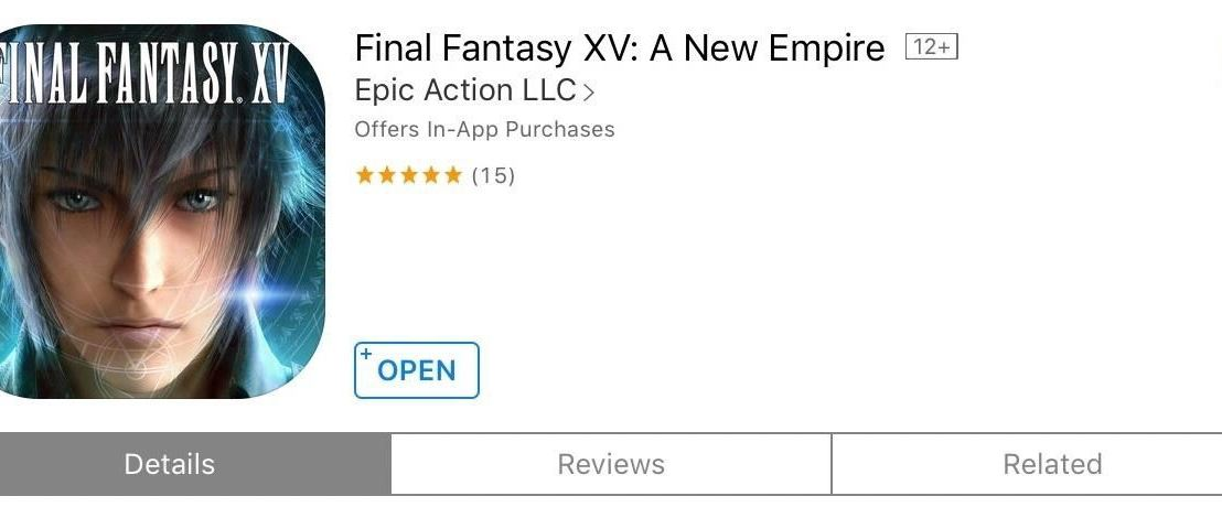 Final Fantasy XV: Another Game of War