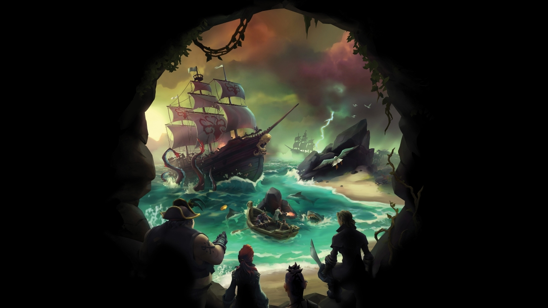 Sea of Thieves Vertical Key Art